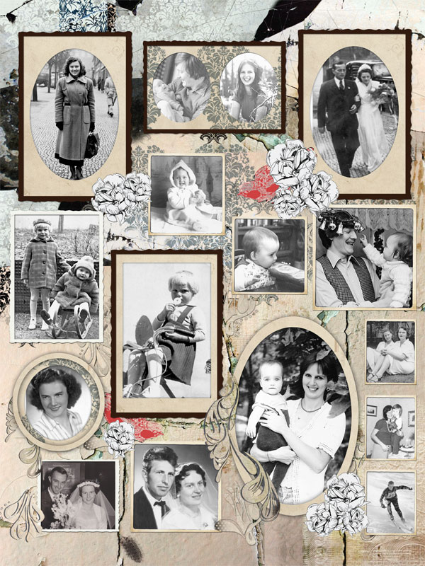 EasyCollage - Vintage-Designs