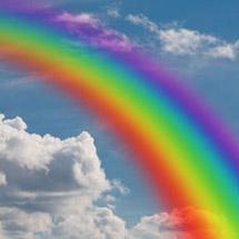 Regenbogen-Collage - EasyCollage