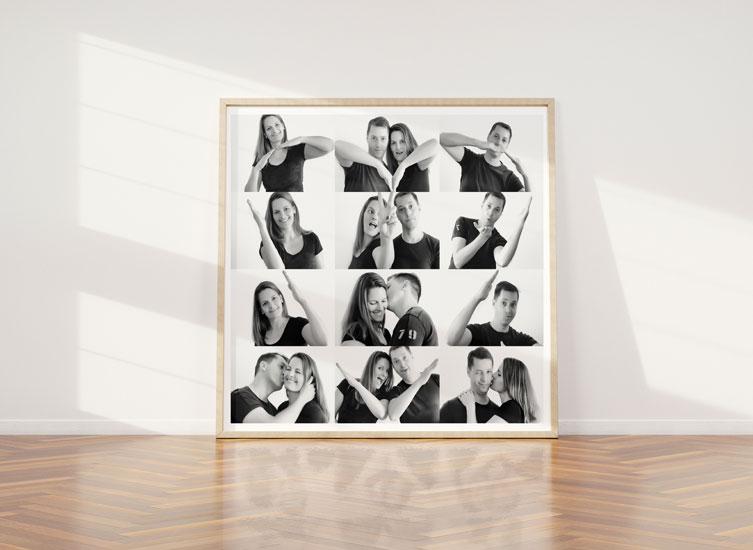 Easycollage Inspiration Herz Collage